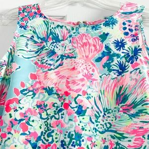 Lilly Pulitzer Tops - Lilly Pulitzer Donna Tunic In Serene Blue Gypsea